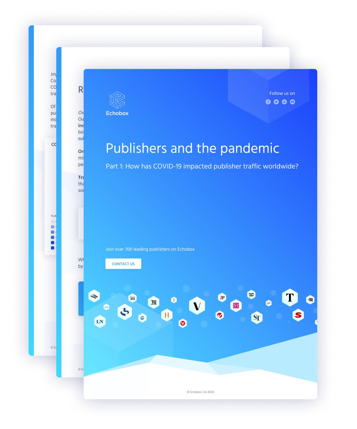 Publishers and the pandemic, part 1